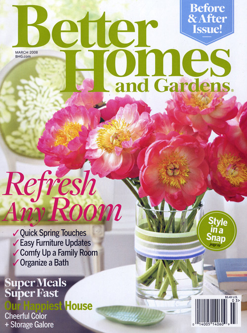 Betsy fein in better homes and gardens march 2008 Better homes and gardens gardener